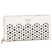 (ケイトスペード) kate spade ケイトスペード 財布 KATE SPADE PWRU5573 139 CAMERON STREET PERFORATED LACEY 長財布 CEMENT ...
