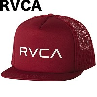 RVCA Foamy Trucker Hat Cap Dark Red キャップ 並行輸入品