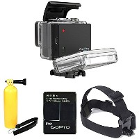 GoPro バッテリー BacPac for HERO3+ and HERO3 (Camera ソールド Separately) With Head ストラップ Mount for Gopro +...