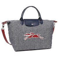 LONGCHAMP バッグ ロンシャン 1515 636 006 プリアージュ LE PLIAGE ON THE ROAD TOP HANDLE BAG トートバッグ NAVY