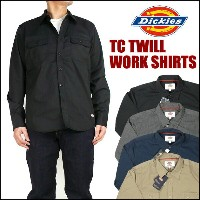 Dickies (ディッキーズ) TCツイル ワークシャツ 151M20WD13 【送料無料】プレゼント ギフト