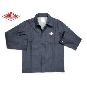 【期間限定30%OFF!】DANTON(ダントン)MADE IN FRANCE/#5203JO DENIM JACKET /marine