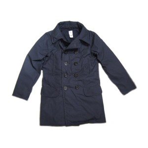【期間限定30%OFF!】POST OVERALLS(ポストオーバーオールズ)/#2113RL P-POST-RL PC POPLIN LONG P-COAT/navy