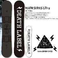 17-18 DEATH LABEL DEATH SERIES LTD2/17-18 デスレーベル DEATH SERIES LTD2/デスシリーズ LTD2/DEATH LABEL スノーボード...