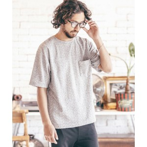 【ANGENEHM(アンゲネーム)】1712-305AN-Random Pile Short Sleeve Pullover プルオーバー(MADE IN JAPAN)