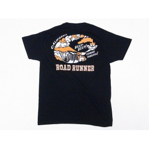 CHESWICK[チェスウィック] Tシャツ ロードランナー CH77292 ROAD RUNNER RR COMING THROUGH (BLACK) 【RCP】