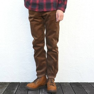 orSlow(オアスロウ)/ IVY FIT JEANS 107 (SLIM FIT) -(C53)BROWN CORDUROY-