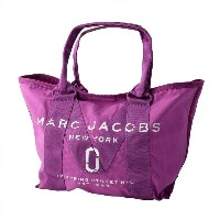 MARC JACOBS マークジェイコブス M0011222-533 Lilac ミリタリーロゴプリント トートバッグ スモール A4サイズ対応 New Logo Tote Small 【RCP】