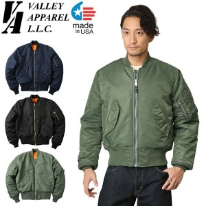 Valley Apparel バレイアパレル MADE IN USA MA-1 フライトジャケット【WIP03】