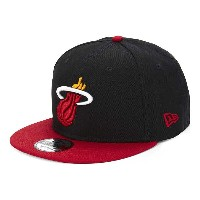 ニューエラ new era メンズ 帽子 キャップ【9fifty miami heat snapback cap】Otc black