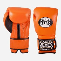 Cleto Reyes Hook & Loop Training グローブ Special Edition, タイガー オレンジ, 14-Ounce (海外取寄せ品)