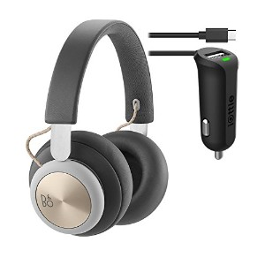B&O プレイ by Bang & Olufsen Beoplay H4 Wireless Headphones (Charcoal Gray) バンドル & iOttie RapidVolt ミニ...
