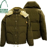 SIERRA DESIGNS (シエラデザインズ) DOWN SIERRA JACKET Olive Drab 7951