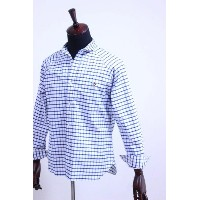 Arvor Maree(アルヴォマレー)SAILOR L/S SHIRT OXFORD WINDOWPANE 2color 【Men's】