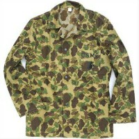 SESSLER(セスラー)WW2 REPLICA USMC M-42 HBT JACKET DUCK HUNTER CAMO【中田商店】