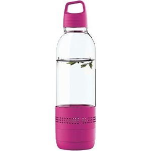 Sylvania SP650-PURPLE 2 In 1 Water Bottle Bluetooth Speaker