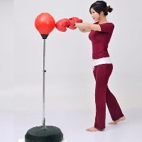 Speed Boxing Ball Suckers vertical Punching Bag for Children and Women Boxing Sandbag Fitness...