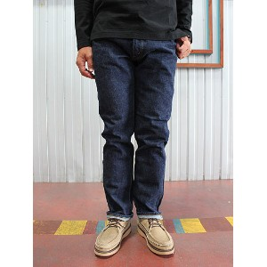 ORSLOW orSlow オアスロウ メンズ Mens IVY FIT JEANS ONE WASH アイビーフィットジーンズ107 ワンウォッシュ Made in Japan テーパードデニム...