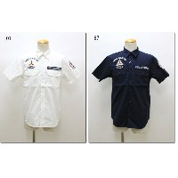 AVIREX 【アビレックス/アヴィレックス】 C.A.P PATCHED MILITARY-SHIRTS C.A.Pパッチドミリタリーシャツ 6175103