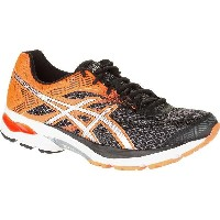(取寄)アシックス メンズ Gel-Flux4 ランニングシューズ Asics Men's Gel-Flux 4 Running Shoe Black/Silver/Hot Orange