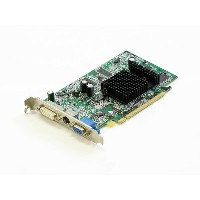 DELL Radeon X300 128MB 128MB DVI/VGA/TV-out PCI Express 16x 0P5288【中古】【全品送料無料セール中!】