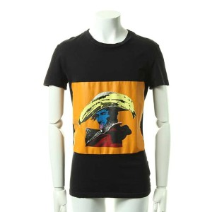 ▽アウトレットセール 60%OFFで46,440円→18,576円▽ John Galliano ジョンガリアーノ SS ROUND NECK T-SHIRT DESTROYED JOHN...