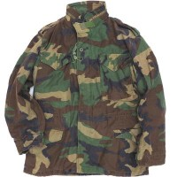 【US/米軍放出品】【中古】 M-65 Field Jacket Woodland Used