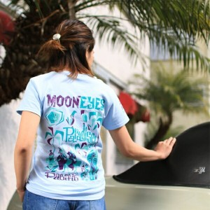 MOONEYES x Mookie レディース Paradise of Pacific Tシャツ