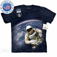 The Mountain Tシャツ The Smithsonian First American Space Walk (The Smithsonian 宇宙 宇宙飛行士 メンズ 男性用 男女兼用 ...