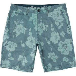 ルーカ メンズ ハーフ&ショーツ ボトムス RVCA Control Hybrid II Short - Men's Dark Denim Print