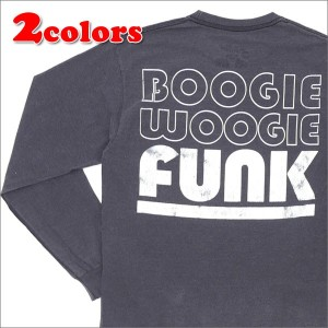 THE PARK・ING GINZA(ザ・パーキング銀座) POGGY'S BOX 2(ポギーズ ボックス) BOOGIE WOOGIE FUNK L/S TEE (長袖Tシャツ) 202...
