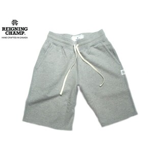 REIGNING CHAMP(レイニングチャンプ)/MIDWEIGHT TERRY SWEAT SHORT PANTS/grey【東水着】