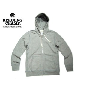 【期間限定30%OFF!】REIGNING CHAMP(レイニングチャンプ)/HEAVYWEIGHT TERRY FULL ZIP HOODIE/heather grey