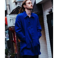 【GLAMB by glamb】GG17AT-JKT01-Navy soutien collar coat-ネイビーステンカラーコート