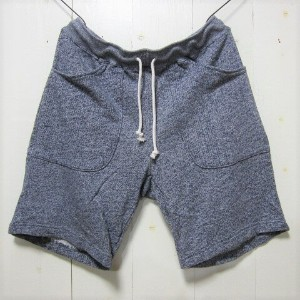 good on グッドオン [sweat shorts][french terry][mock navy]