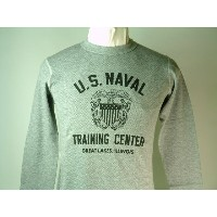 """Buzz Rickson's(バズリクソンズ)Long Sleeve Thermal T-Shirts""""U.S.NAVAL TRAINING CENTER"""""""