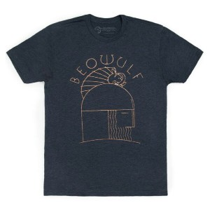 【Out of Print】 Unknown / Beowulf Tee (Midnight Navy)