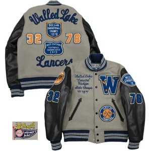 "Whitesville/ホワイツビル 30oz WOOL MELTON AWARD JACKET FULL DECORATION""Walled Lake Lancers"" フルデコレーション..."