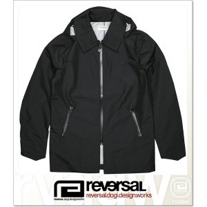 REVERSAL PROGRESSION FIELD COAT (JACKET)(rvsf16aw002-BK)