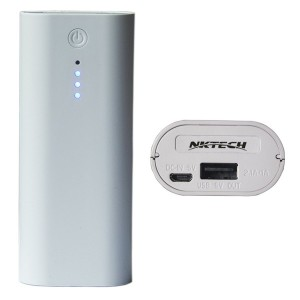 NKTECH ニーポータブル E4c 1A アウトプット パワーバンク 18650 バッテリー USB充電器は MP3 iPhone Samsung SONY Android携帯電話のために ...