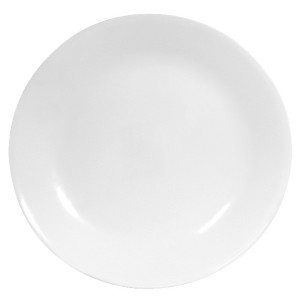 Corelle Livingware 6-Piece Dinner Plate Set, Winter Frost White by Corelle