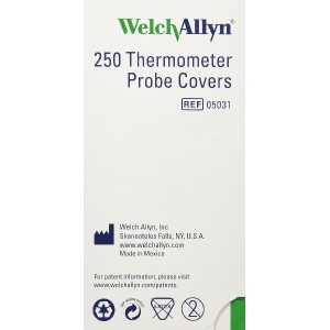 Welch Allyn Probe Covers for SureTemp 690 and 692 Thermometers 250/Box by SureTemp