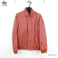 SOPHNET. ソフネットWASHED LEATHER STAND COLLAR BLOUSON レザー ブルゾン 【中古】 DN-2840