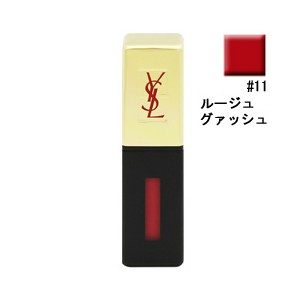 化粧品 COSME イヴサンローラン YVES SAINT LAURENT ROUGE PUR COUTURE VERNIS A LEVRES GLOSSY STAIN 11 ROUGE GOUACH
