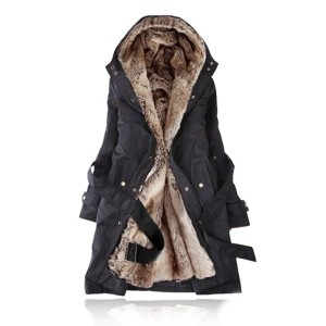 Fashion Women&#x27 s/ Girl&#x27 s Winter Warm Coat Outerwear Quilted Jacket Overcoats Plush Bladder