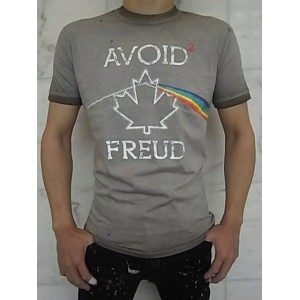 """DSQUARED2(ディースクエアード)【AVOID2 FREUD】""""CHIC DAN FIT""""""""WASHED OUT DYED""""ショートスリーブTee★"""