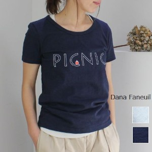 【30%OFF 】Price Down Sale Dana Faneuil(ダナファヌル)スラブプリント T 2colord-5617204-f