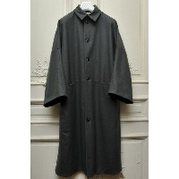 "toogood トゥーグッド ""THE DOORMAN COAT FELTED LAMBSWOOL"" LONG COAT col.CRAY(GRAY)"