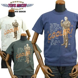 TOYS McCOYトイズマッコイ THE GREAT ESCAPE Tシャツ「COOLER!」TMC1715