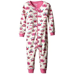 【ポイント2倍!6/22 1:59まで】Hatley Kids Pretty Crowns Sleepy Romper (Infant)